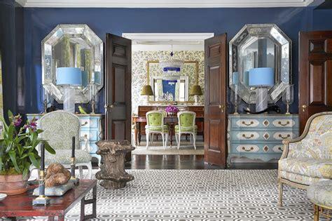 exuberant interiors  markham roberts chicago tribune