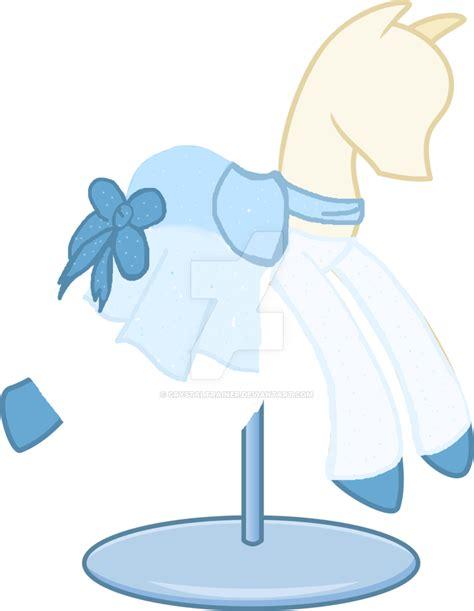 Lil Poni Blue Dress mlp winter blue dress by theshysky on deviantart