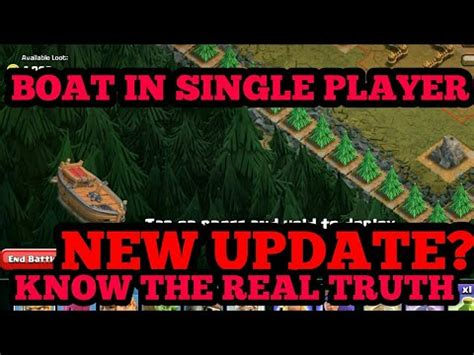 clash of clans broken boat clash of clans broken boat in mega blaster truth youtube