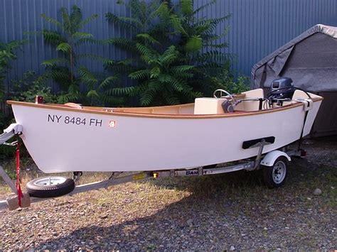 wooden skiff boat for sale 16 wooden skiff with yamaha power price reduced