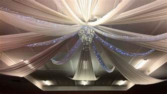 how to drape a ceiling wedding decorations ceiling drapes wedding services