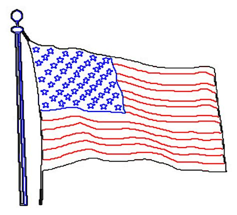Outline Of Flag by Free Coloring Pages Of Union Flag Outline
