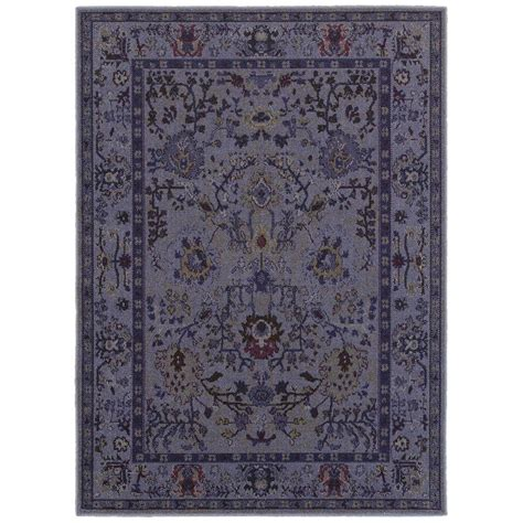 area rugs home decorators home decorators collection overdye purple 5 ft 3 in x 7