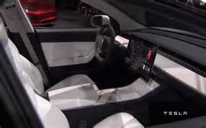 tesla model 3 unveiled in california