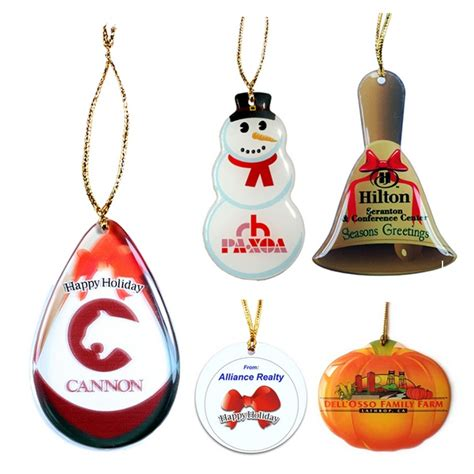 promotional zoogee shatterproof ornament customized