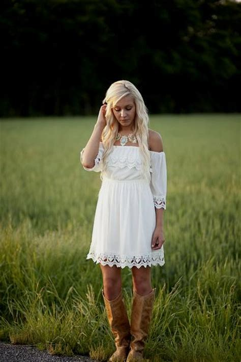 country style sundresses country white sundress naf dresses