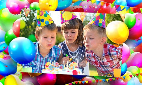 How To Decorate For A Birthday Party At Home by Birthday Photo Frames