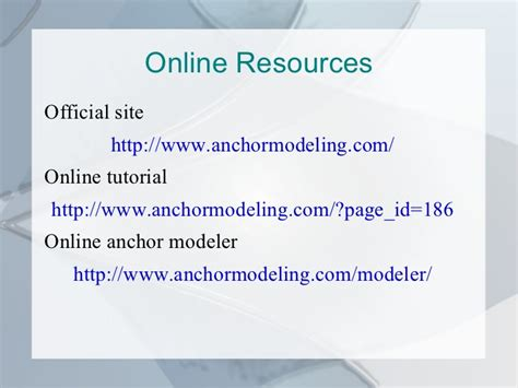 konsep desain database konsep baru pemodelan database dengan anchor modeling