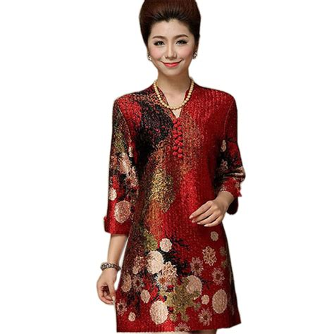 dress styles for middle age oriental women chinese silk dress oasis amor fashion
