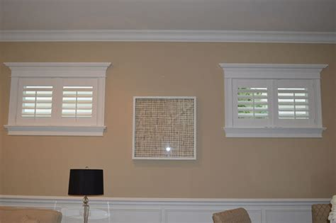 Plantation Home Interiors by Shutters On A Small Window Spruce Interiors