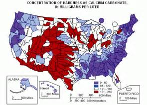 waters of the united states map usgs water quality information water hardness and alkalinity