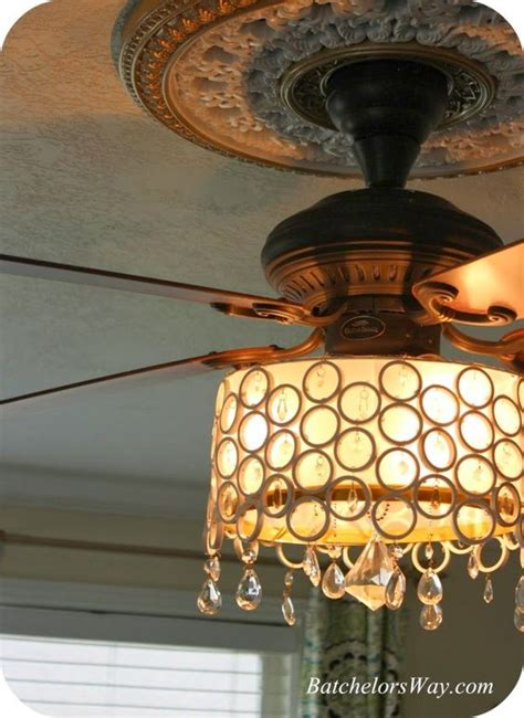 chandelier ceiling fan light cover diy made with pvc pipe