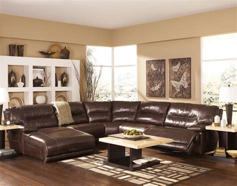 exhilaration sectional reviews exhilaration chocolate left arm facing reclining sectional