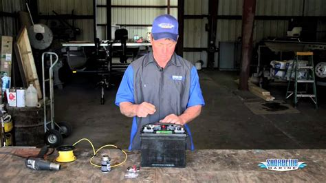 properly connect wires   marine battery youtube