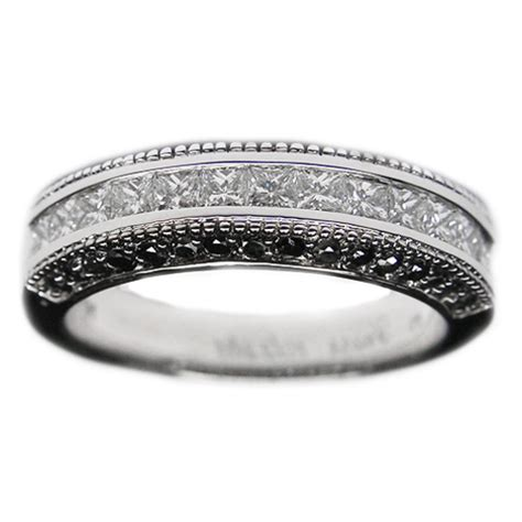 black wedding bands from mdc diamonds