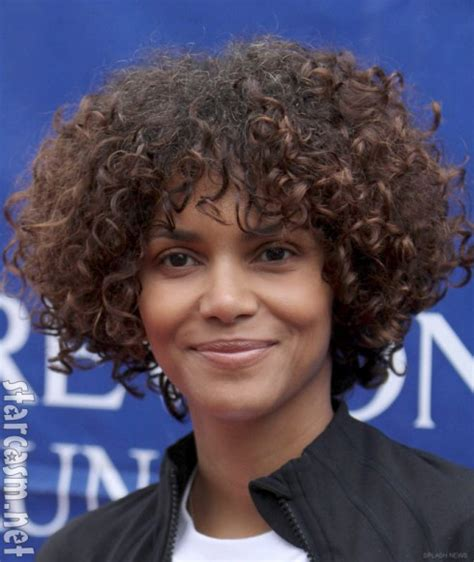 halle berry short curly hairstyles kai zen fashion feather hair extensions halle berry s