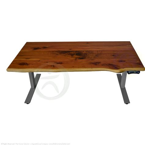 sit stand desk wood shop uplift 920 solid wood sit stand no crossbar desks