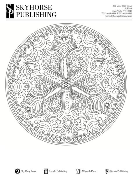 mandala coloring pages for relaxation mandala for relaxation coloring pages