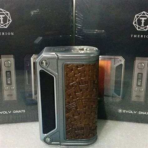 Therion Dna 75 Italian Leather Not Finder Boxer Alpha Avm jual lostvape therion italy version limited edition di lapak nobel lidra letsmakecloud