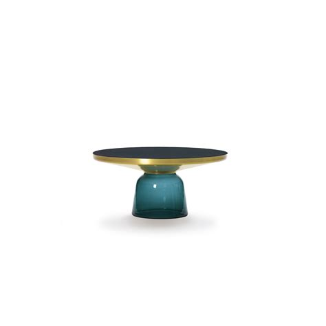 Classicon Gmbh by Classicon Gmbh Bell Table Coffee Table Montana Blau