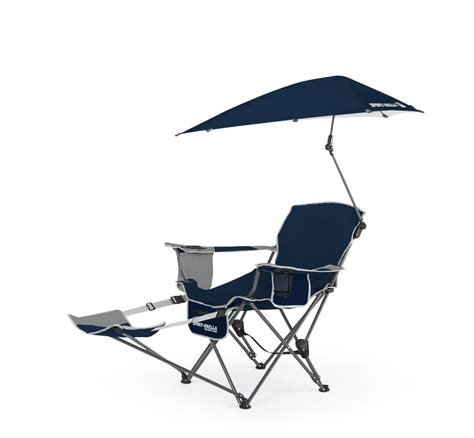 folding reclining beach chair reclining cing chair with umbrella cup holder beach