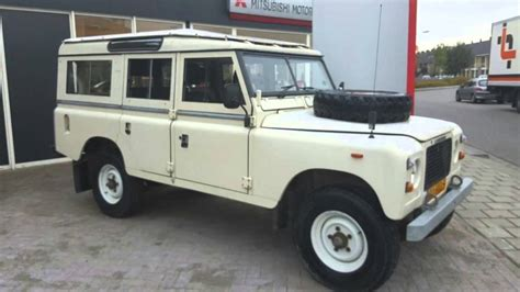 land rover series 3 109 land rover defender series iii 109 quot stage one v8 5 deurs