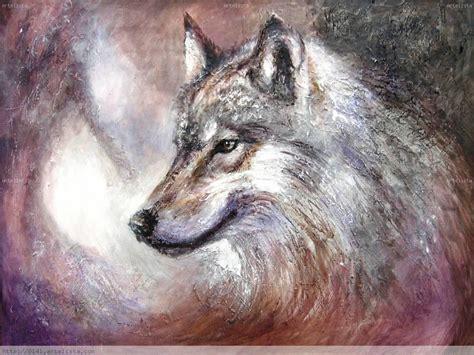 Imagenes Abstractas De Lobos | pinturas de lobos imagui
