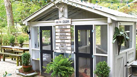backyard chicken coop ideas chicken coops southern living