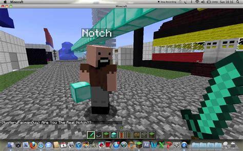 when was minecraft made 1 8 i met notch on minecraft