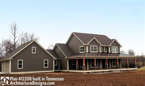 marvelous french country house plans with front porch 6 nice plan 4122db country home plan with marvelous porches