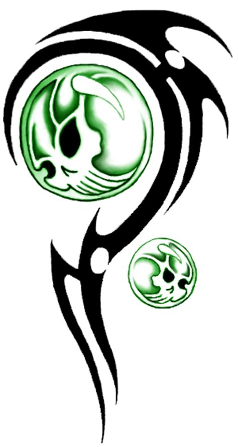 tribal skull tattoo designs clipart best