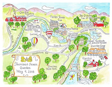 wedding map custom wedding map wedding map watercolor map of