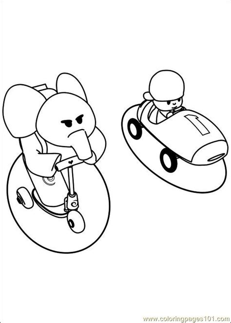 pocoyo coloring pages pdf pocoyo 11 coloring page free others coloring pages