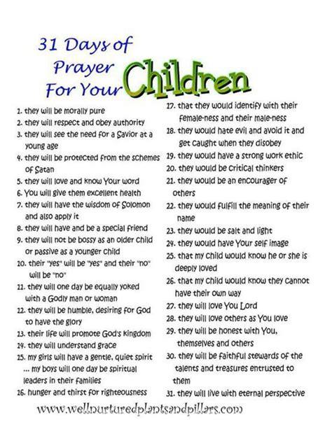 31 prayers for my seeking god s will for books best 25 prayer for my children ideas on