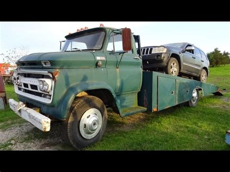 1965 chevrolet c60 2 ton classic car hauler 60s wrecker