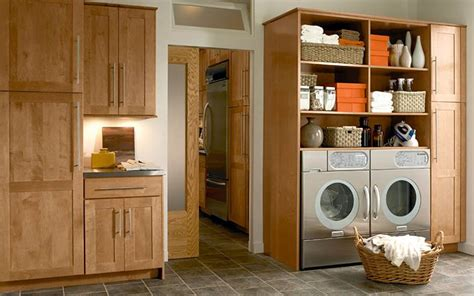 Kraftmaid Laundry Room Cabinets 17 Best Images About Laundry Rooms On Pinterest Maple Cabinets Laundry Room And Laundry Tips