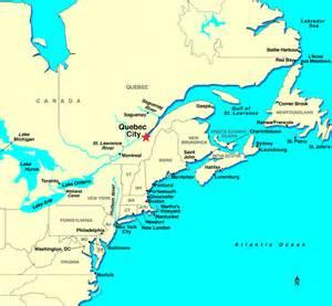 Quebec Canada Map by Quebec Cruises Quebec Cruise Cruise Quebec Cruises To