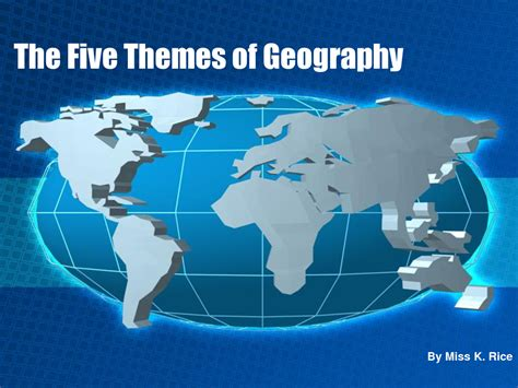 5 themes of geography asia basic geography skills world geography