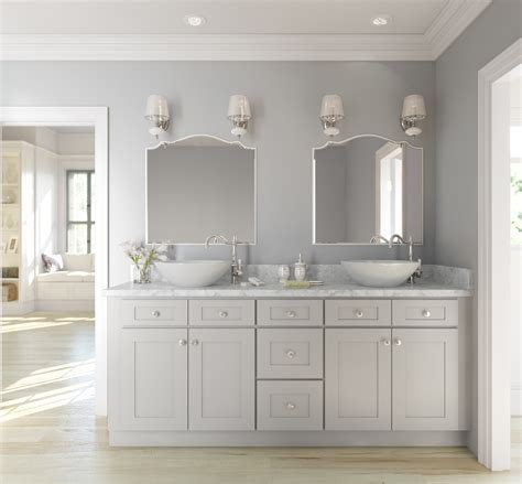 Colored Bathroom Cabinets light colored cabinets in bathroom bathroom design ideas