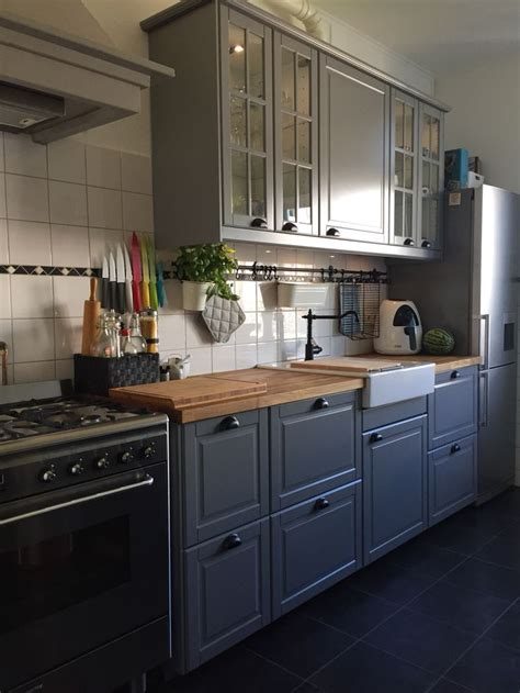 Ikea Grey Kitchen Cabinets by New Kitchen Ikea Bodbyn Grey Kitchen Inspiration