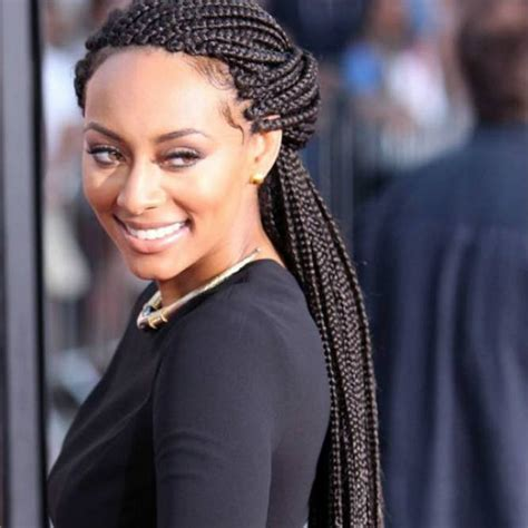 Six Celebs Show Us Just How Elegant Box Braids Can Be   Un