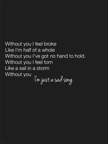 song sad 25 best ideas about sad song lyrics on