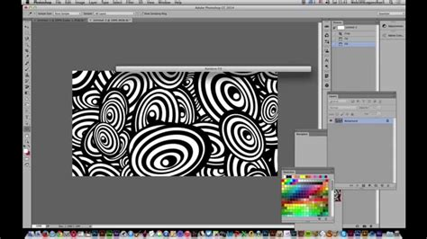 Create Pattern In Photoshop Tutorial | photoshop cc 2014 how to create op art pattern in