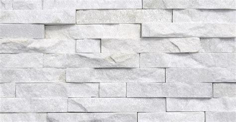 creating a split material wall white quartzite split face mosaic tile stone wall