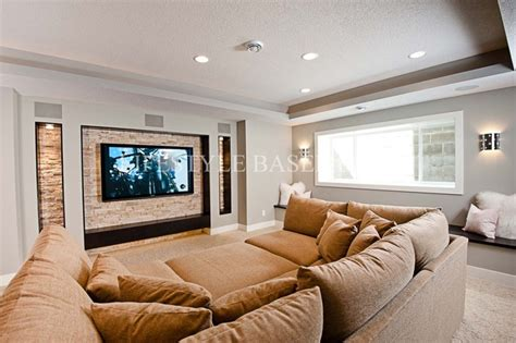 sofa for basement small basement sectional home design inside