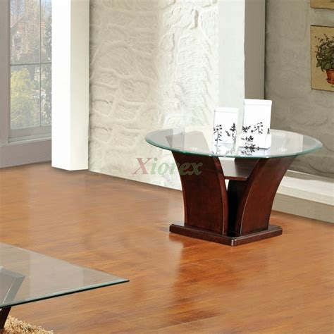 Unique Glass Living Room Tables Columba Unique Glass Top End Table Xiorex