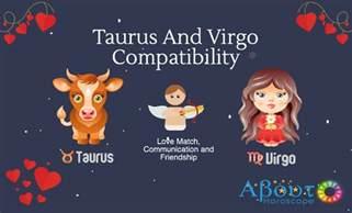 taurus and virgo compatibility love match friendship