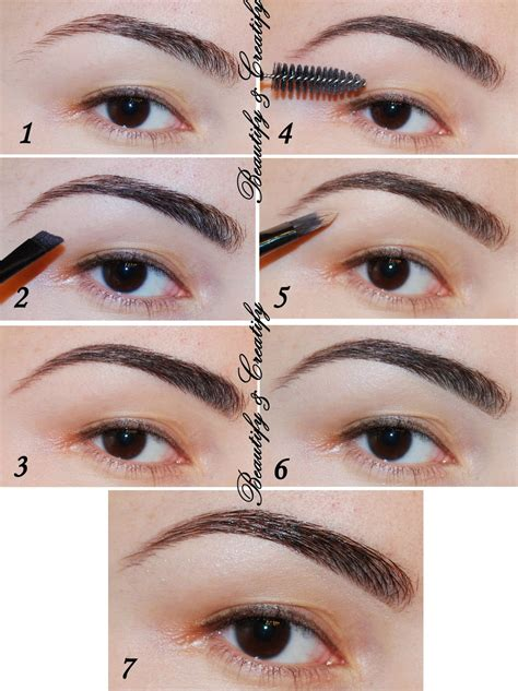 how to color in eyebrows brown colors for black brows go with grey if your brow