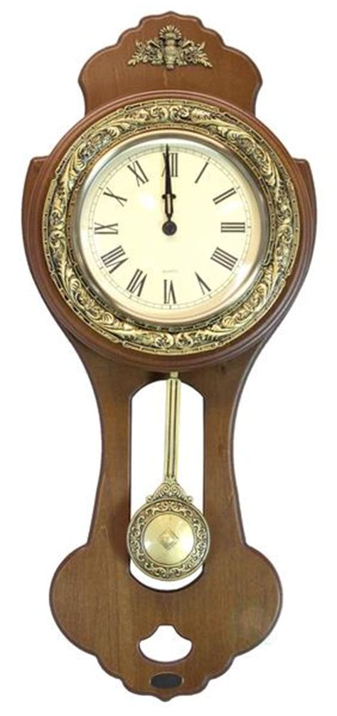 swinging pendulum clock classic wood wall clock with swinging pendulum uniquewise