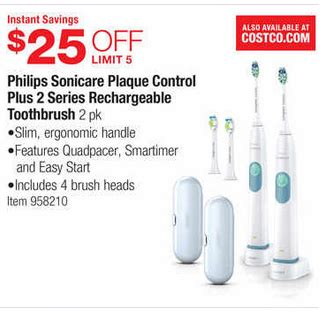 printable coupons sonicare toothbrush